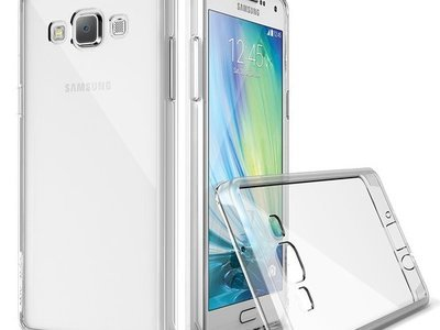 Samsung Galaxy A8 TPU hoesje Transparant