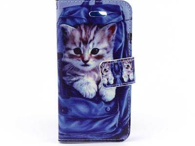 iPhone 5 (S) & C & SE bookcase Poes