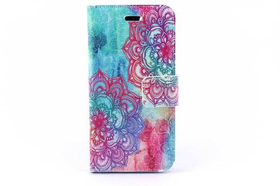 iPhone 7 (s) bookcase Bloemen