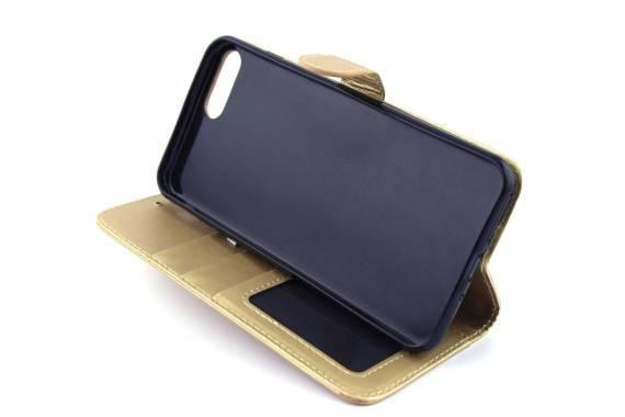 iPhone 7 (s) Plus bookcase Goud