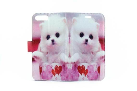 iPhone 7 (s) Plus bookcase Honden