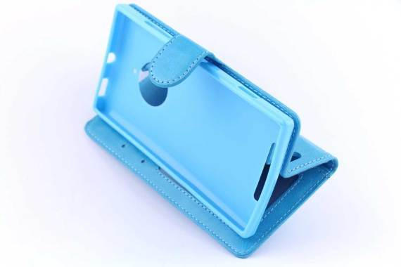 Microsoft Lumia 830 bookcase Blauw