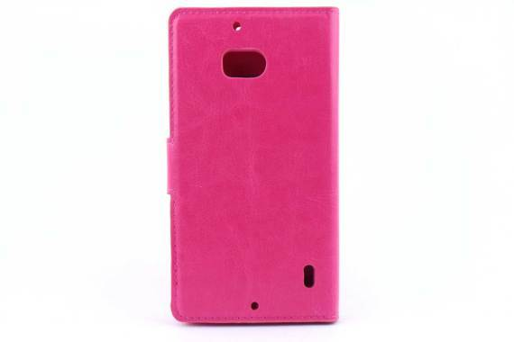 Microsoft Lumia 935 bookcase Roze