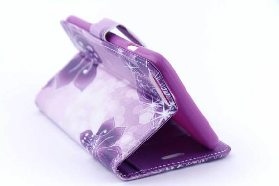 iPhone 6 (s) Plus bookcase Bloemen