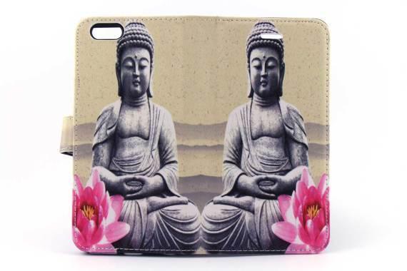 iPhone 6 (s) Plus bookcase Budha