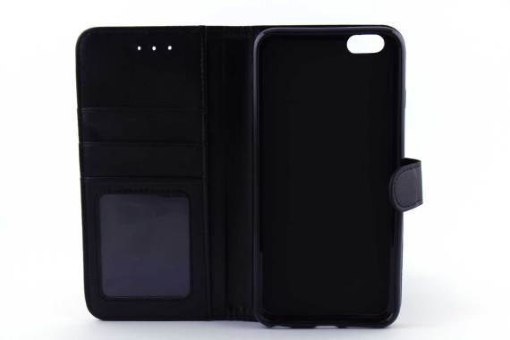iPhone 6 (s) Plus bookcase zwart