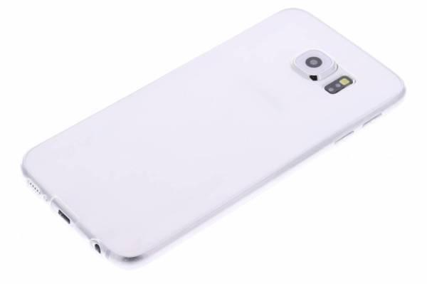 Samsung Galaxy S6 TPU hoesje Transparant