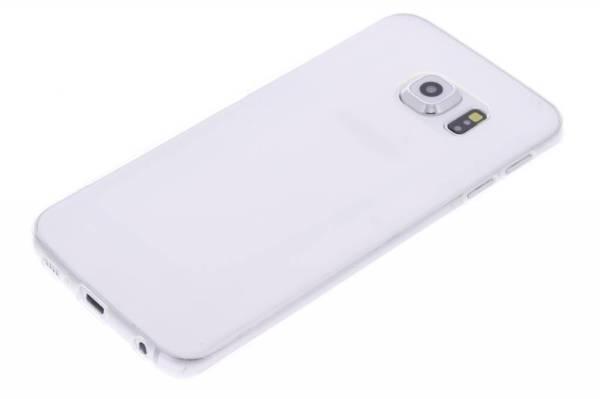 Samsung Galaxy S6 Edge TPU hoesje Transparant