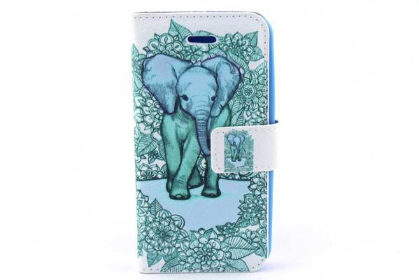 iPhone 5 (S) & C & SE bookcase Olifant