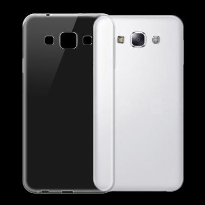Samsung Galaxy E7 TPU hoesje Transparant