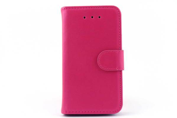 iPhone 4 (s) bookcase Roze
