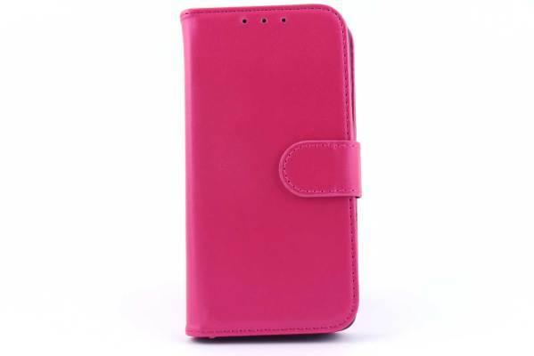 Samsung A3 bookcase Roze