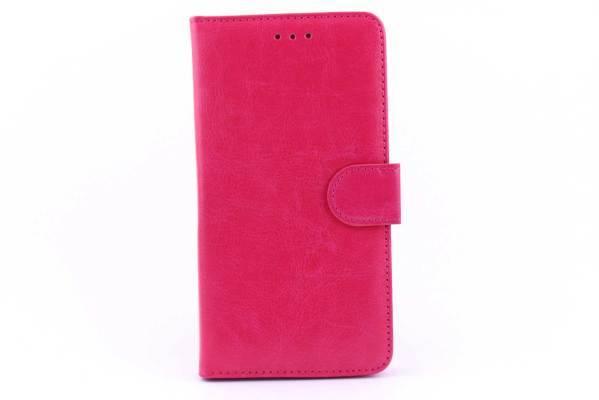 Samsung A7 bookcase Roze