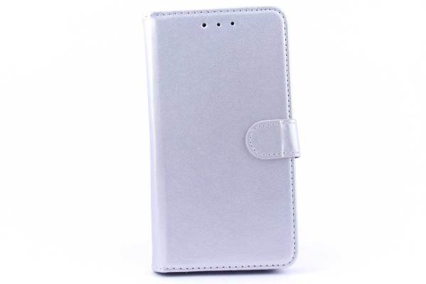 Samsung A7 bookcase Zilver