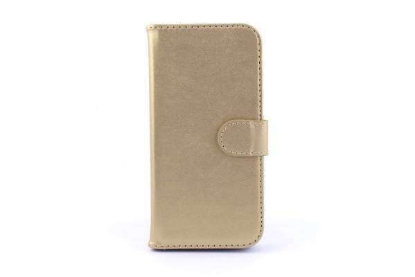 iPhone 7 (s) bookcase goud
