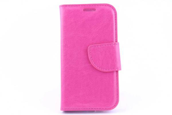 Samsung S4 mini bookcase Roze