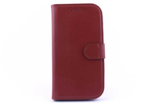 Samsung S4 bookcase Bruin