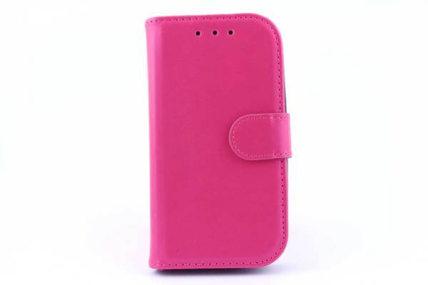 Samsung S3 mini bookcase Roze