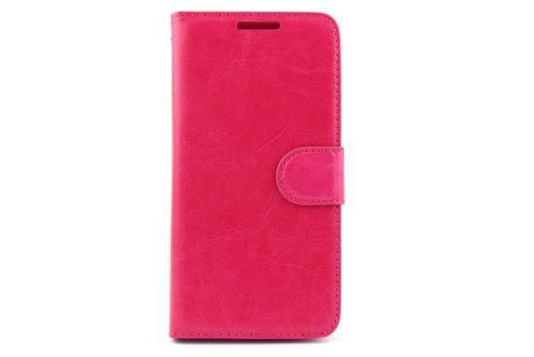 Samsung Galaxy E5 bookcase Roze