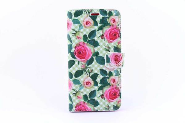 Samsung Galaxy S6 Edge Plus bookcase Rozen