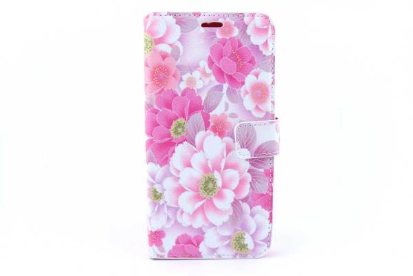 Samsung Galaxy S6 Edge Plus bookcase Bloemen
