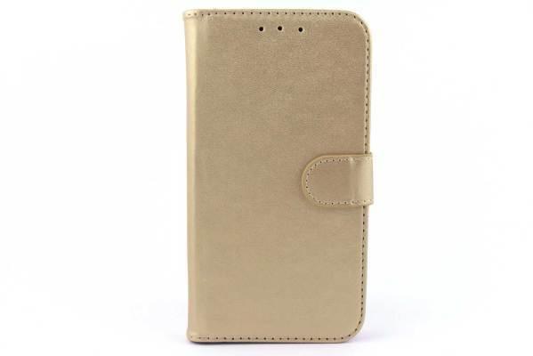 Samsung Galaxy On5 bookcase Goud
