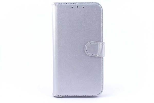 Samsung Galaxy On5 bookcase Zilver