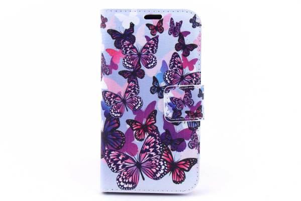 Samsung Galaxy J1 bookcase Vlinders