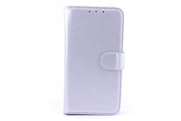 Samsung Galaxy J1 bookcase Zilver