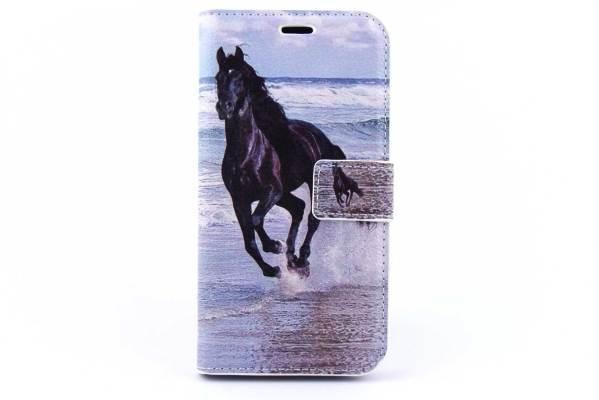 Samsung Galaxy J2 bookcase Paarden