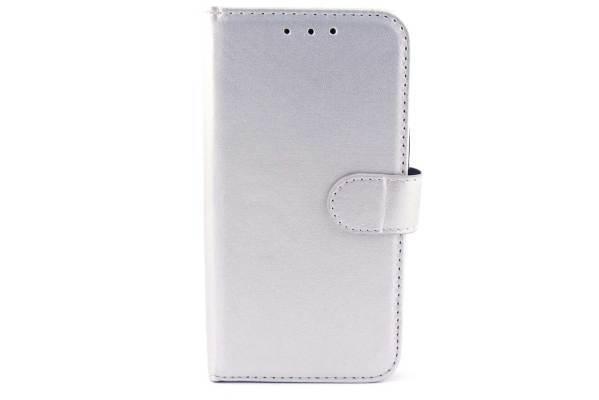 Samsung Galaxy J2 bookcase Zilver