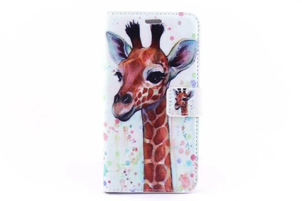 Samsung Galaxy J3 bookcase Giraffen