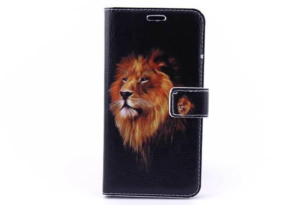 Samsung Galaxy J3 bookcase Leeuwen