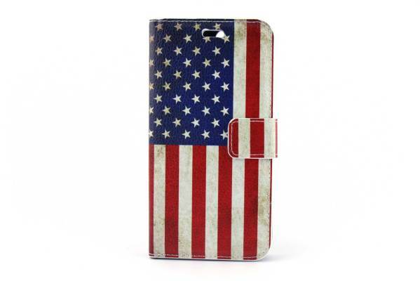 iPhone 7 (s) Plus bookcase Amerika
