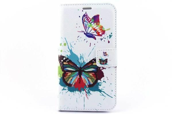 Samsung Galaxy J7 bookcase Vlinders