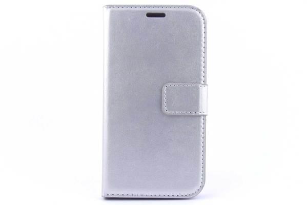 Samsung Galaxy J7 bookcase Zilver