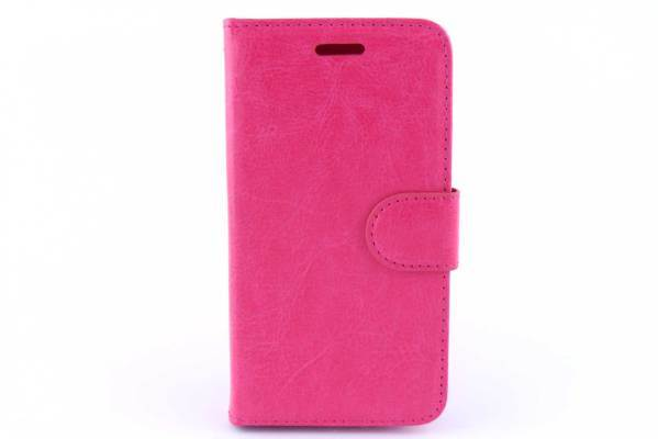 Alcatel Pop C5 bookcase Roze