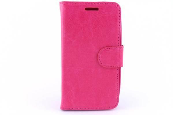Motorola Moto E bookcase Roze