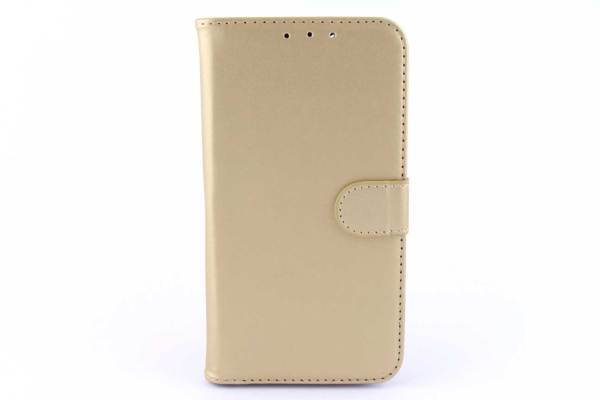 Huawei G Play Mini bookcase Goud
