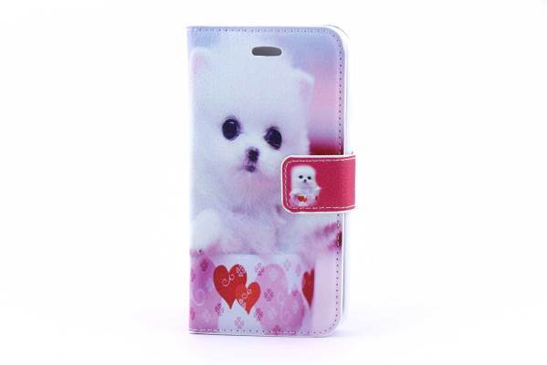 iPhone 6 (s) bookcase Hondjes
