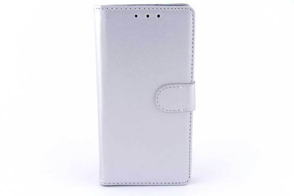 Huawei P8 Lite bookcase Zilver