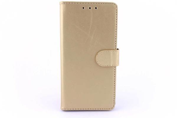 Huawei P8 bookcase Goud