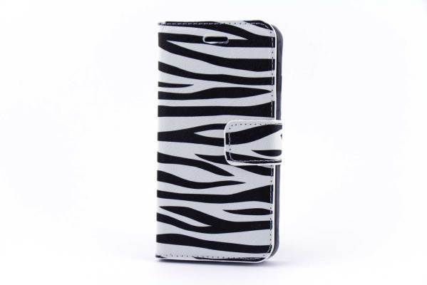 iPhone 6 (s) bookcase Zebrastrepen