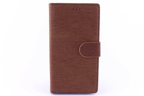 Sony Xperia M4 Aqua bookcase Bruin