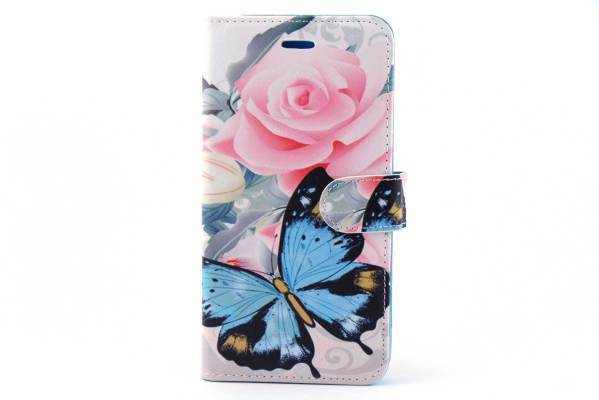 iPhone 6 (s) Plus bookcase Rozen