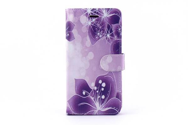 iPhone 6 (s) Plus bookcase Bloemen