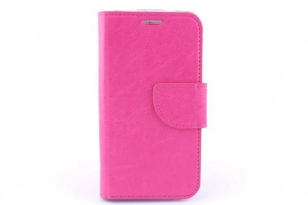 HTC One M7 Bookcase Roze