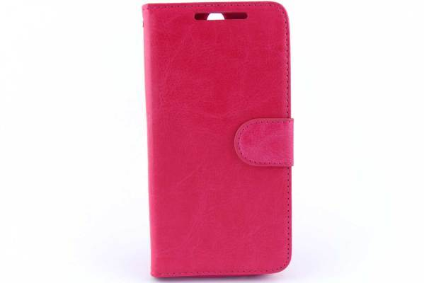 HTC One M8 / M8S Bookcase Roze