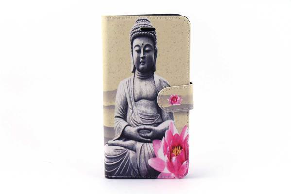 iPhone 6 (s) Plus bookcase Budha