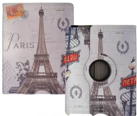 iPad 2 & 3 & 4 360° draaibare tablethoes Parijs